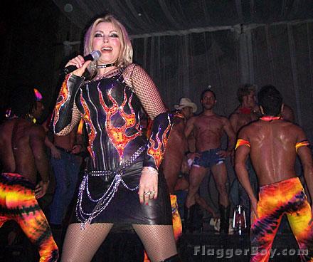 Perform with Kristine W