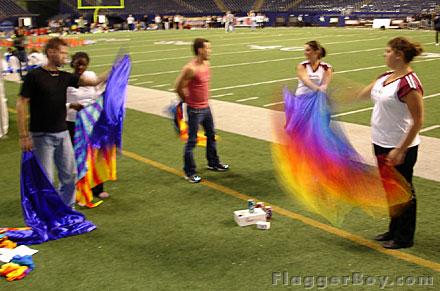 NFL Halftime 05 – Dallas – Flag Class