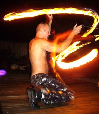 Texas Flagger Weekend 07 – Fire